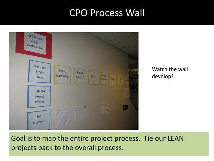 CPO Process Wall