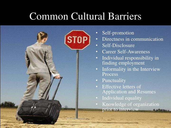 Common Cultural Barriers