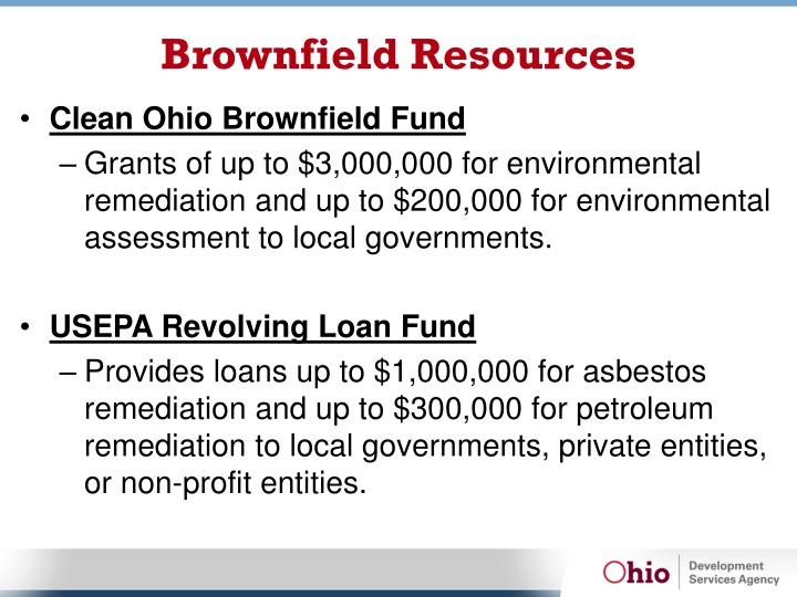 Brownfield Resources