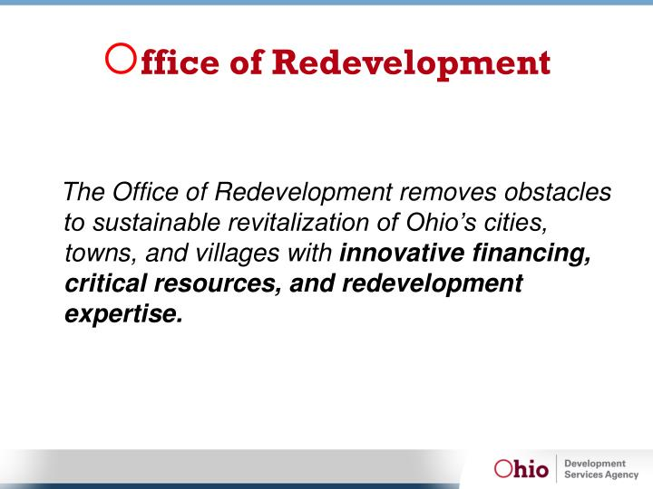 Ffice of redevelopment1