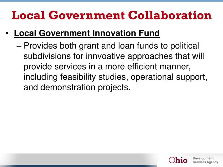 Local Government Collaboration