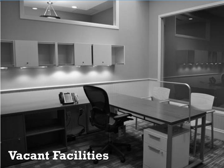 Vacant Facilities