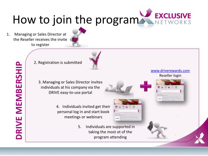 How to join the program