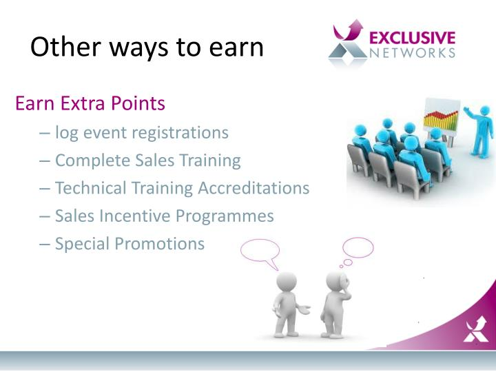 Other ways to earn