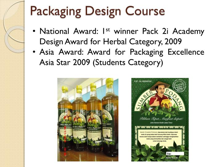 Packaging Design Course