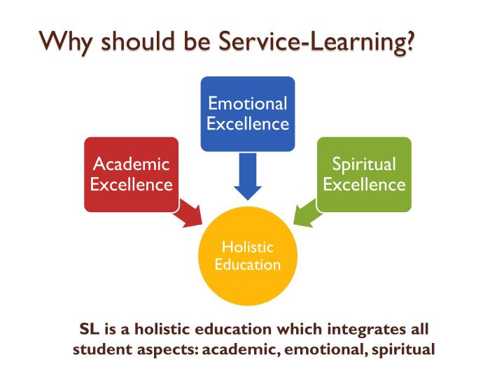 Why should be Service-Learning?