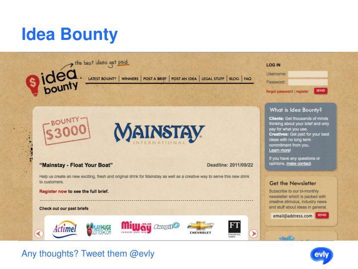 Idea Bounty