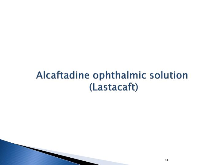Alcaftadine ophthalmic solution