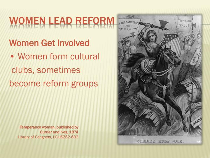 Women Get Involved