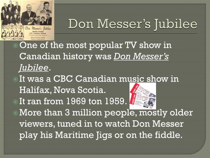 Don Messer's Jubilee