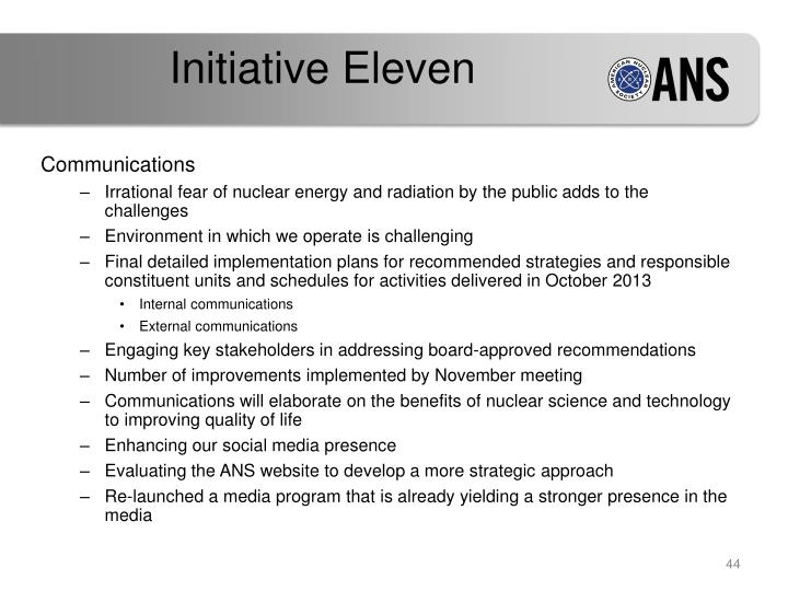 Initiative Eleven