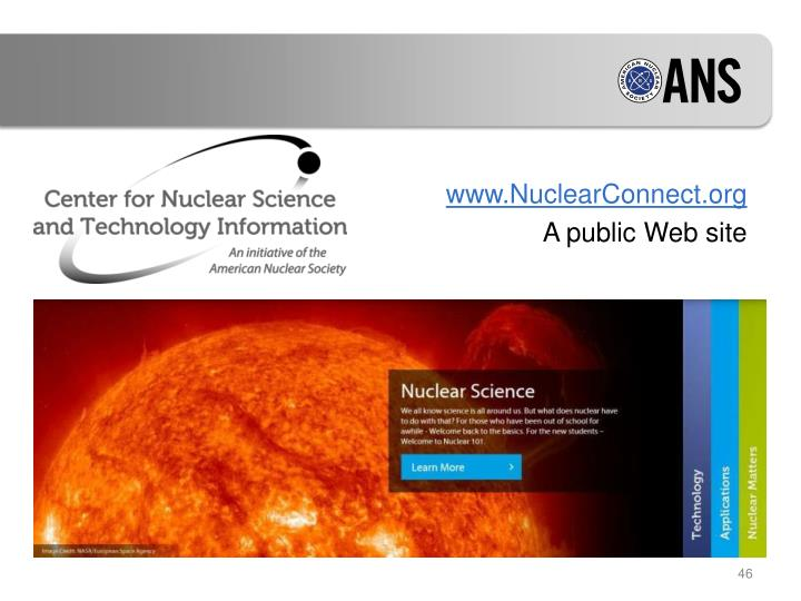 www.NuclearConnect.org