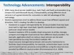 technology advancements interoperability