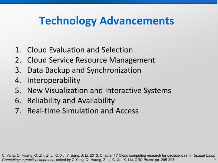 Technology Advancements