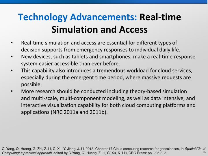 Technology Advancements: