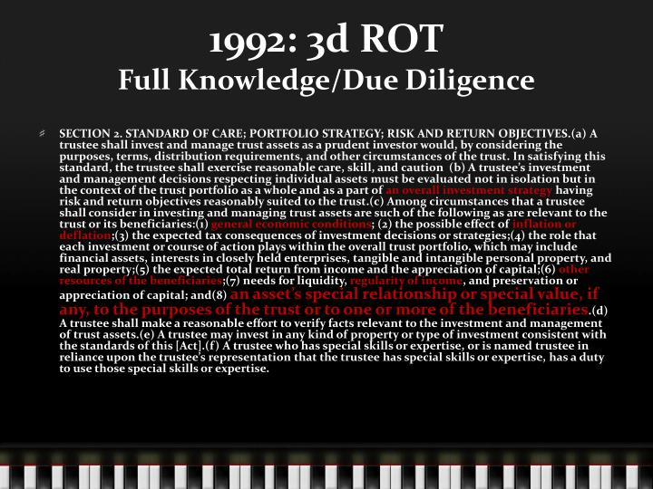 1992: 3d ROT