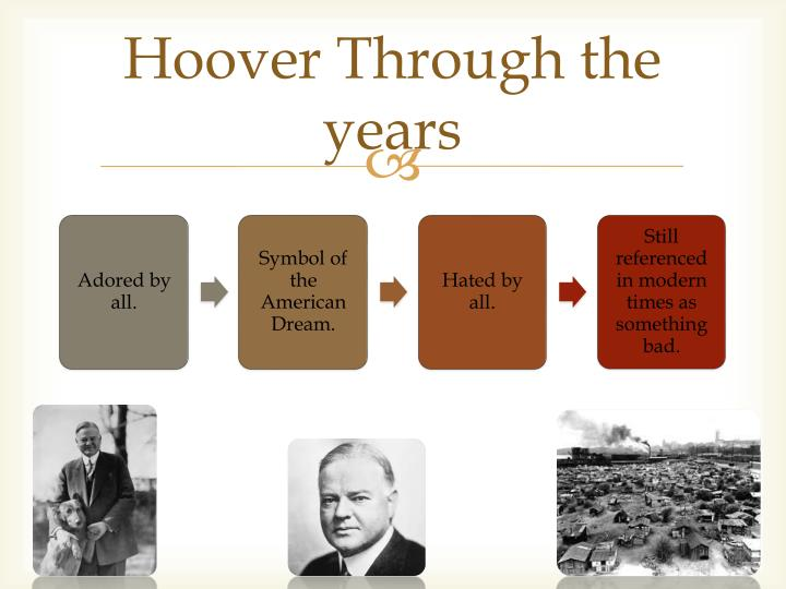 Hoover Through the years