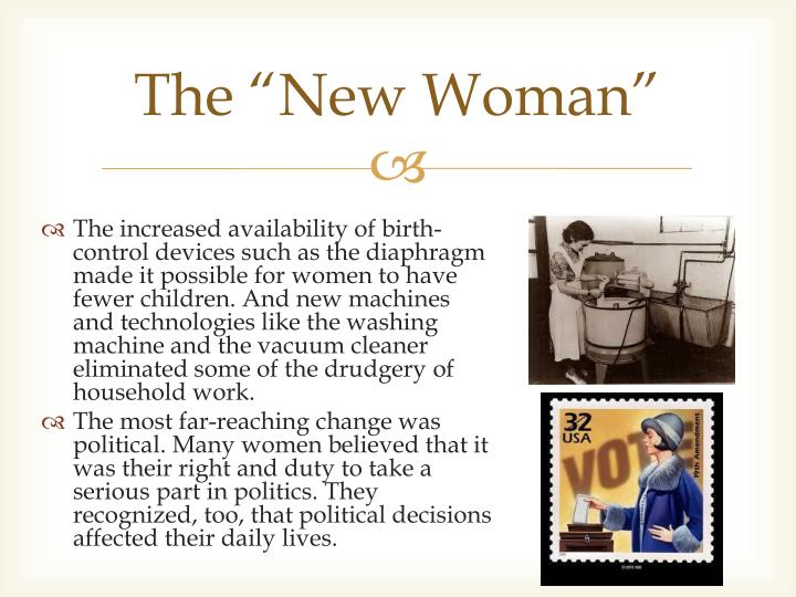 """The """"New Woman"""""""