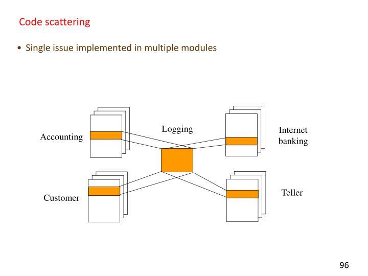 Code scattering