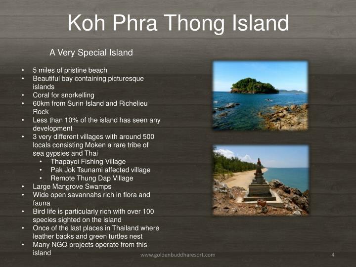 Koh Phra Thong Island