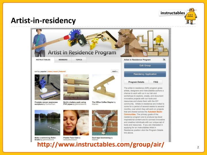 Artist-in-residency