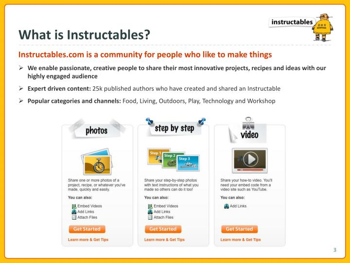 What is Instructables?