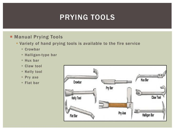 PRYING TOOLS