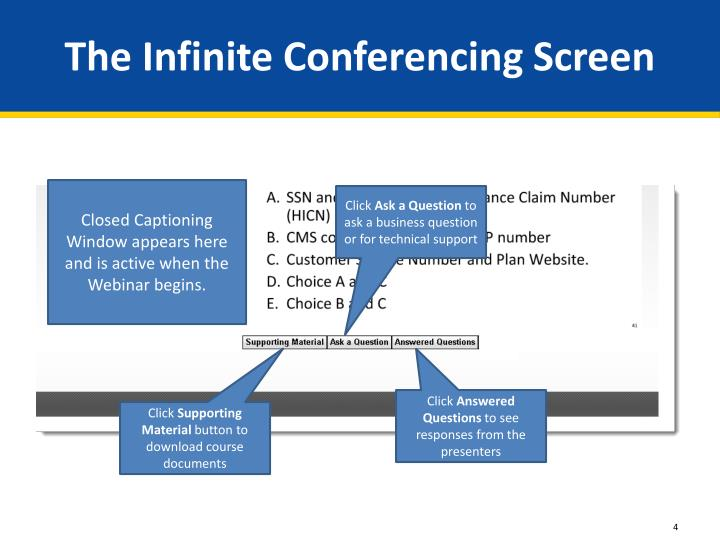 The Infinite Conferencing Screen