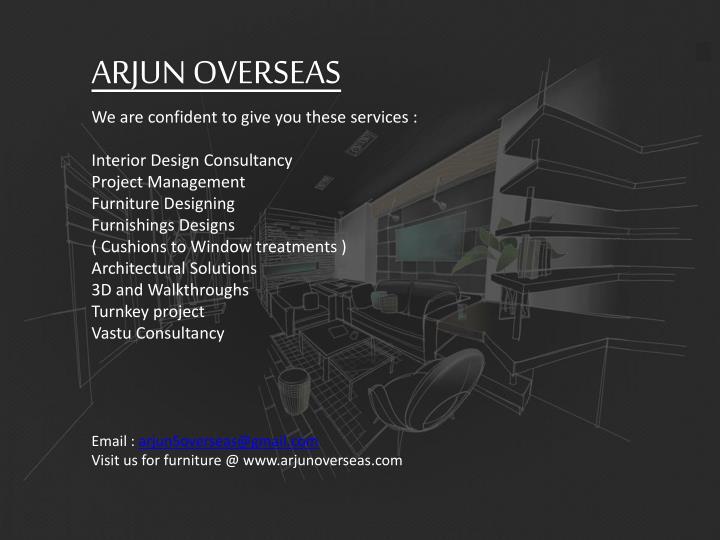 ARJUN OVERSEAS