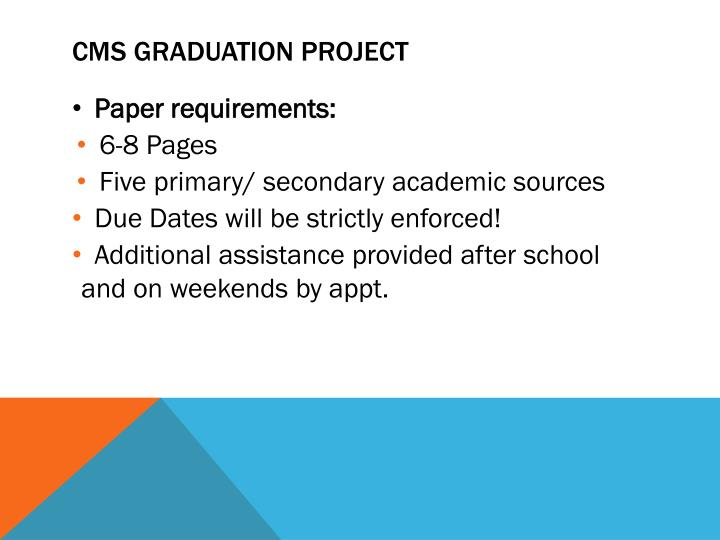 CMS Graduation Project