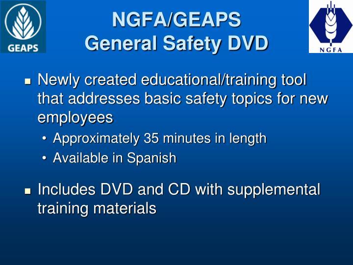 NGFA/GEAPS