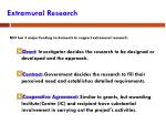extramural research