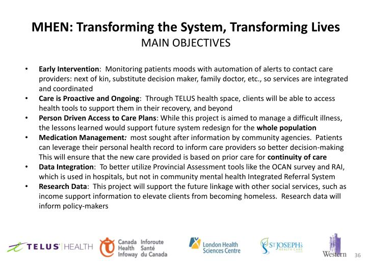 MHEN: Transforming the System, Transforming Lives