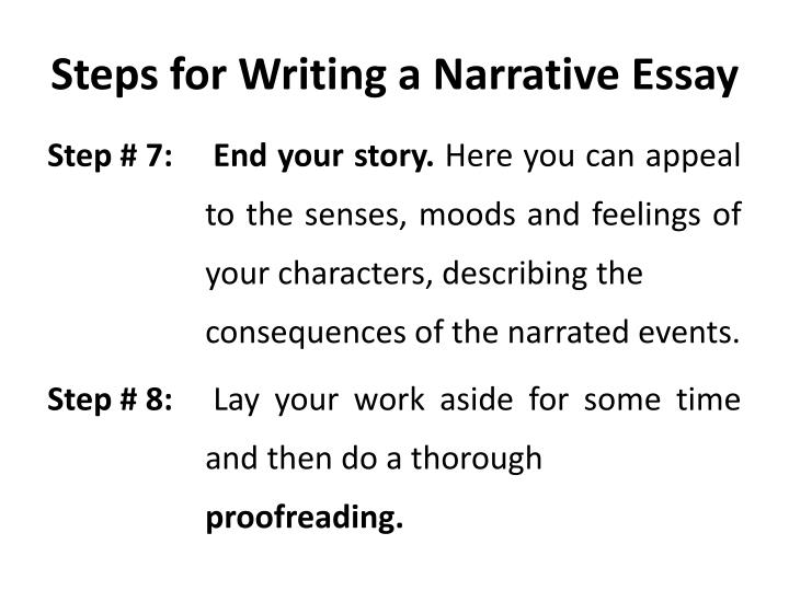Steps for Writing
