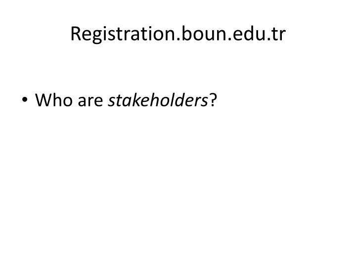 Registration.boun.edu.tr