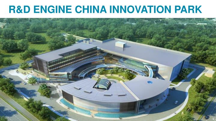 R&D ENGINE CHINA INNOVATION PARK