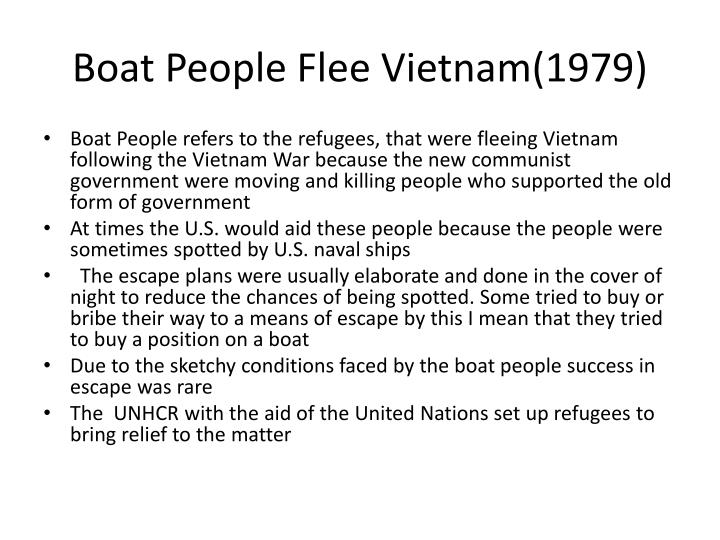 Boat People Flee Vietnam(1979)
