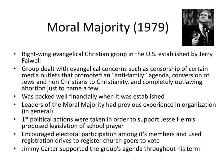 Moral Majority (1979)