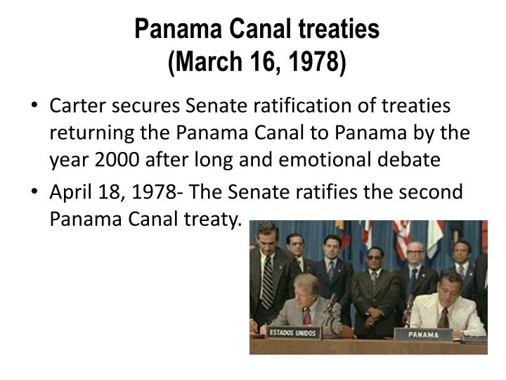 Panama Canal treaties
