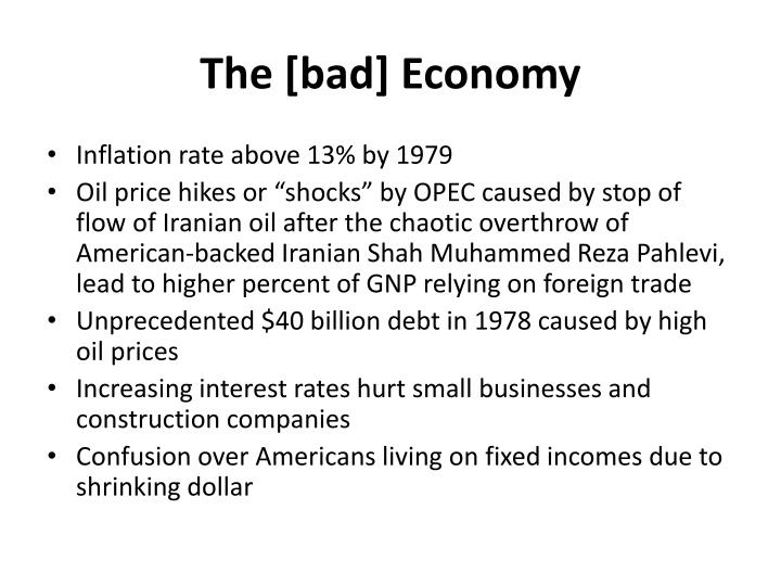 The [bad] Economy
