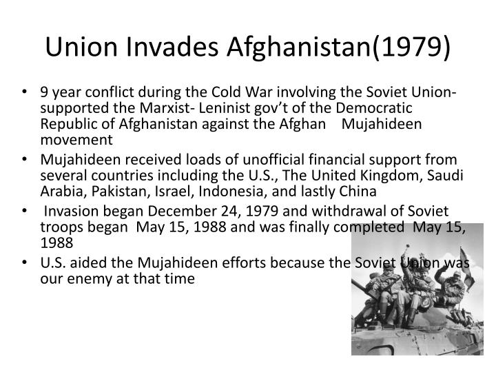 Union Invades Afghanistan(1979)