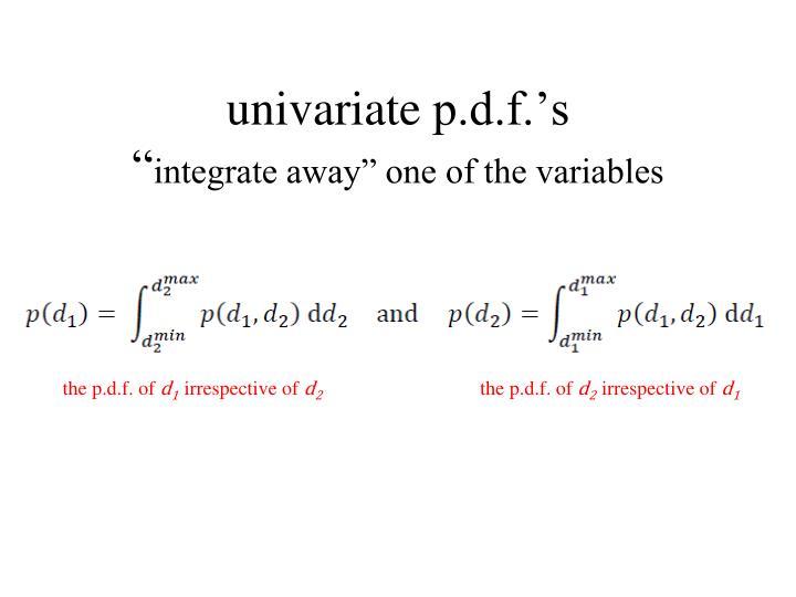 univariate