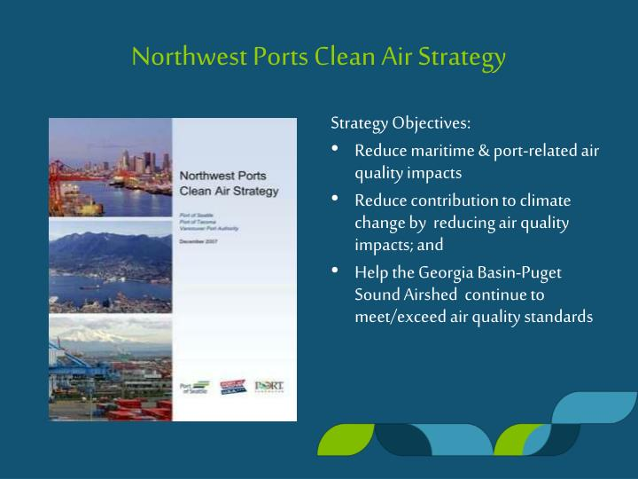 Northwest Ports Clean Air Strategy