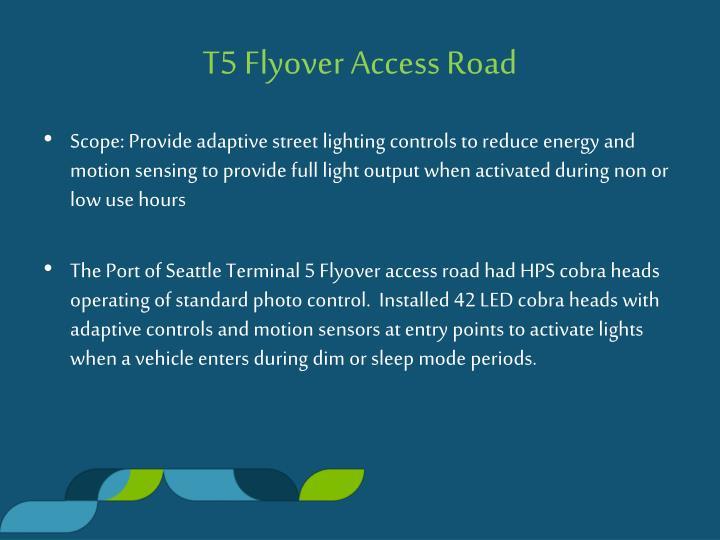 T5 Flyover Access Road