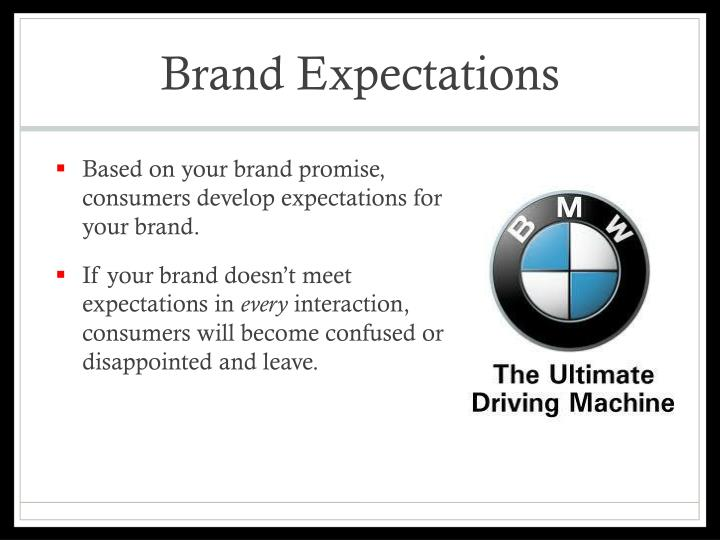 Brand Expectations