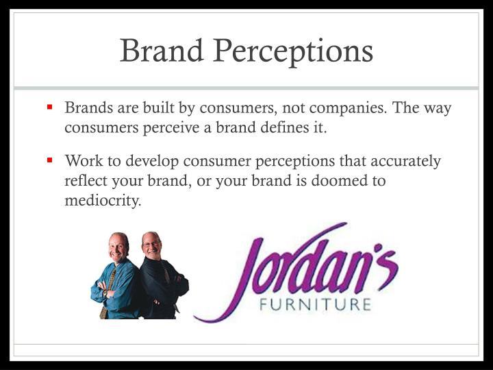 Brand Perceptions