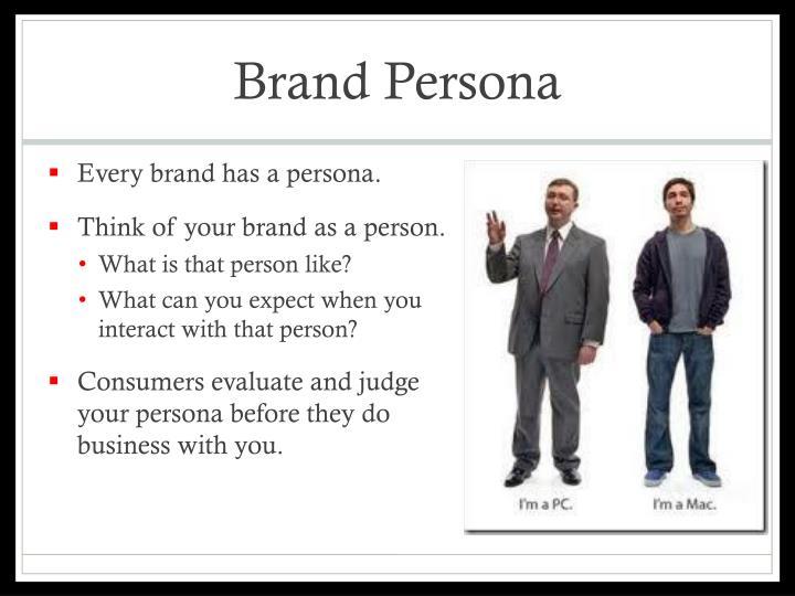 Brand Persona