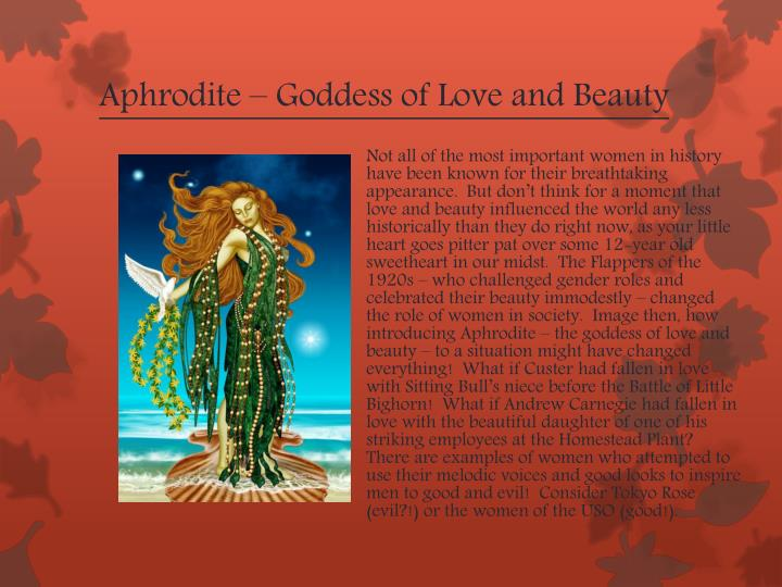 Aphrodite – Goddess of Love and Beauty