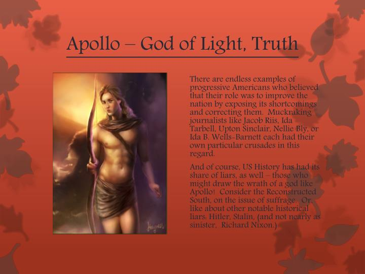 Apollo – God of Light, Truth