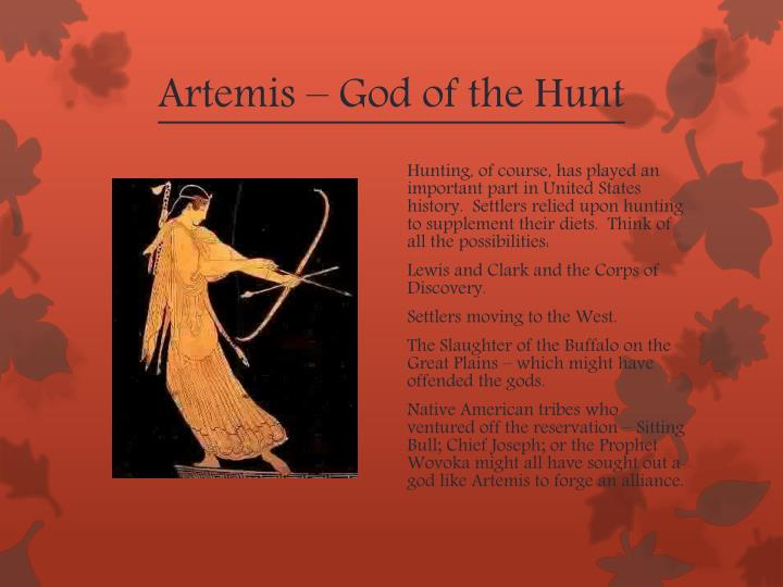Artemis – God of the Hunt